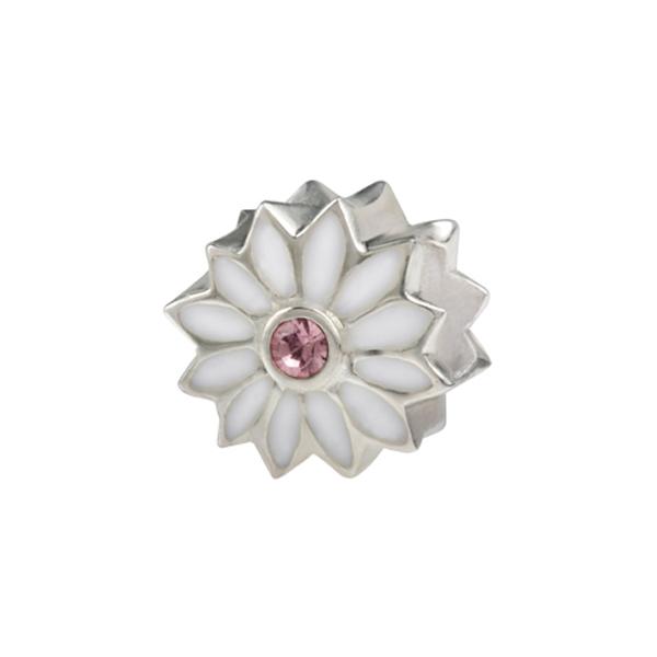 Conta SILVERADO Rosa Branca ENB045-WH02-2LR