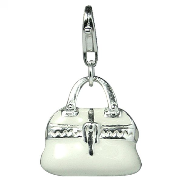 Charm SECRETS White Purse UK.CH.1105.0074