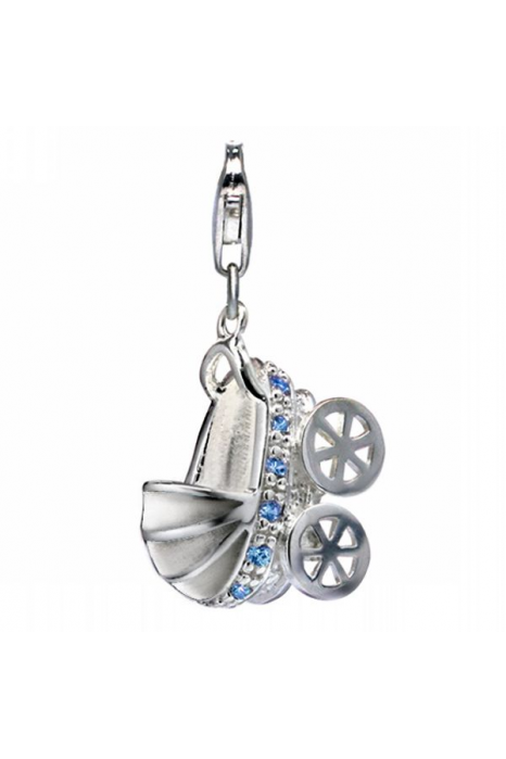 Charm SECRETS Baby Buggy Blue