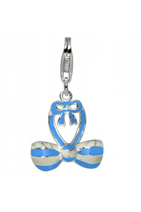 Charm SECRETS Blue Stripes
