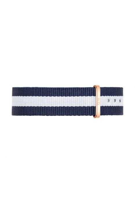 Bracelete DANIEL WELLINGTON Nato Glasgow 18mm RG