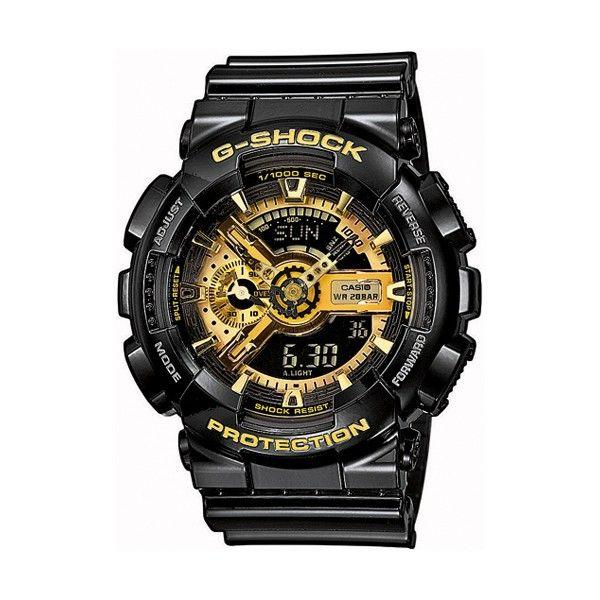 Relógio CASIO G-SHOCK classic Black & Gold GA-110GB-1AER