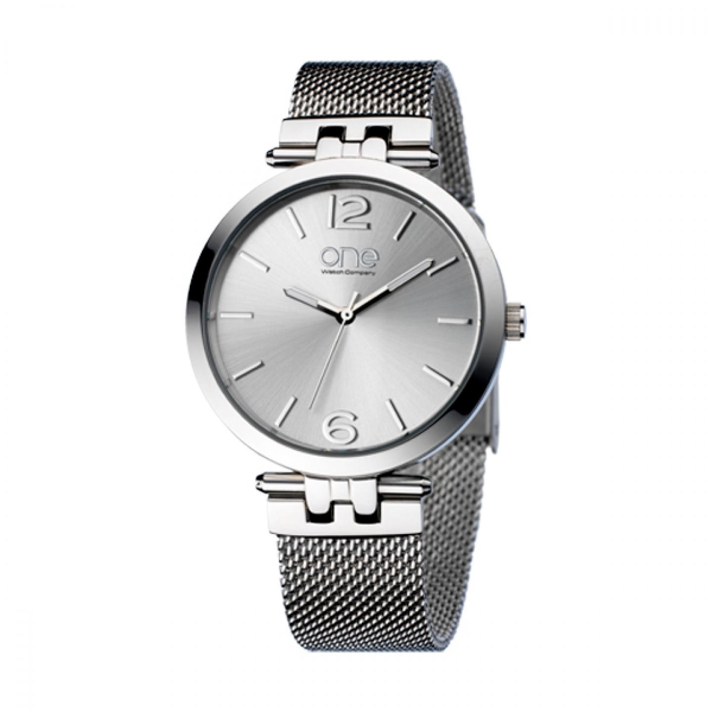 665b6871cde Relógio ONE Zen Prateado - OL5813SS32O