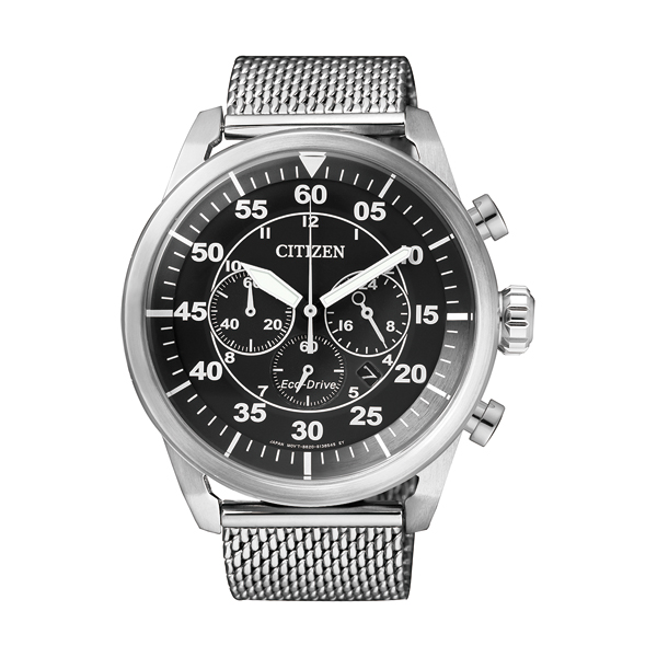 Relógio CITIZEN Sports Mesh Silver CA4210-59E