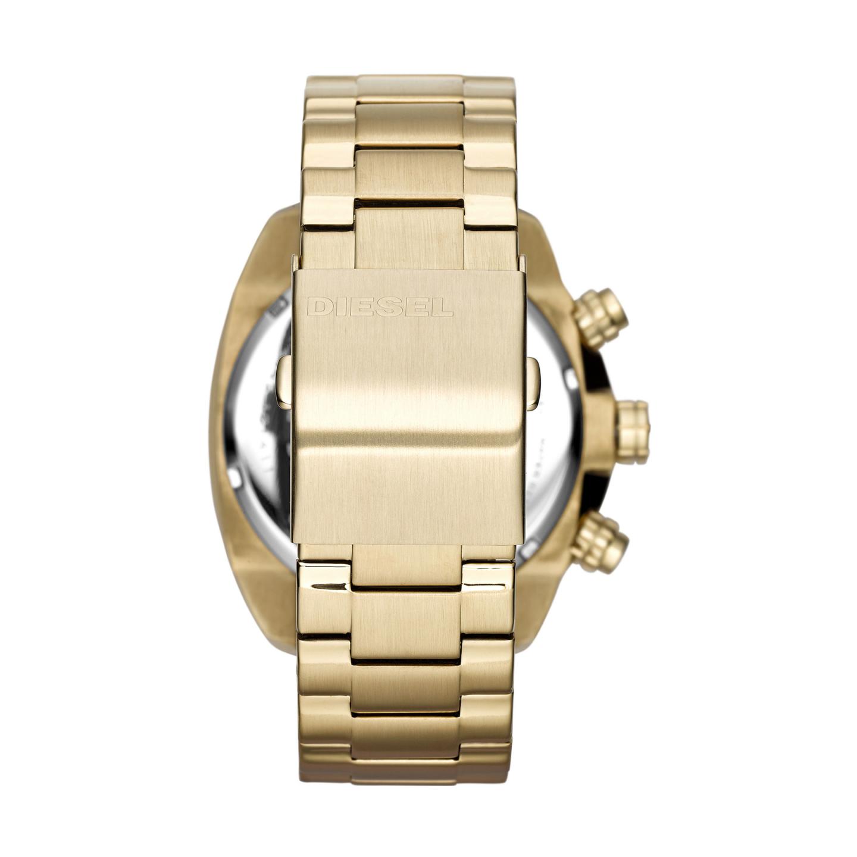 132a981fba1 Relógio DIESEL Rasp Dourado - DZ1761