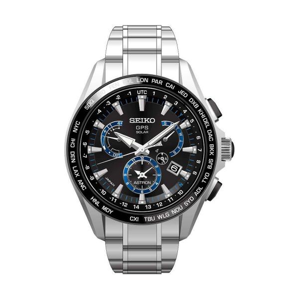 Relógio SEIKO ASTRON GPS Solar Dual Time SSE101J1