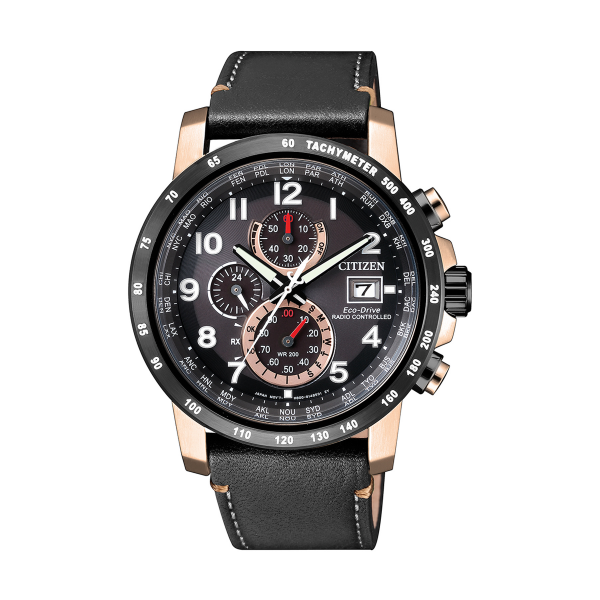 Relógio CITIZEN Eco-Drive Radio Control Black AT8126-02E