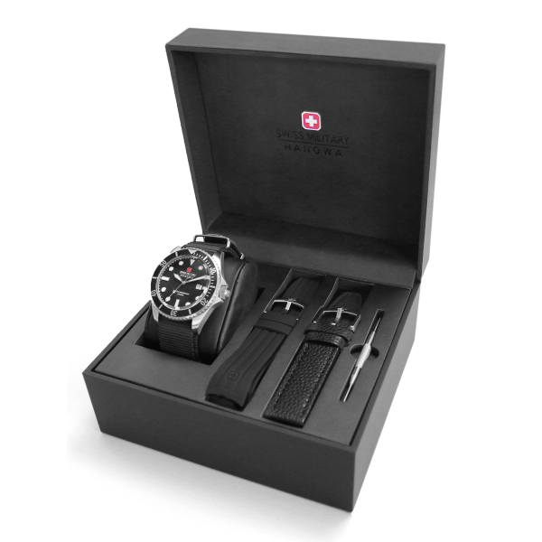 Gift Set Relógio SWISS MILITARY Sea Lion SM0682790400707SET