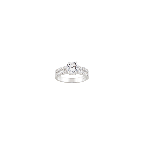 Anel BOW HAPPY Silver Solitaire BH.AN.1110.0089