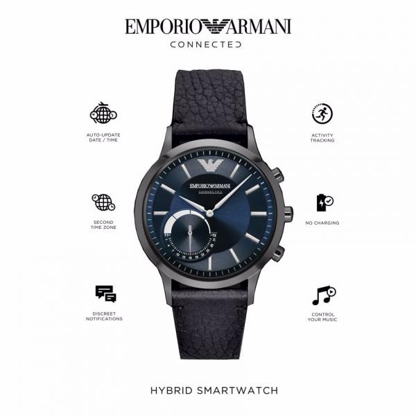 Relógio inteligente EMPORIO ARMANI Connected(Smartwatch) ART3004