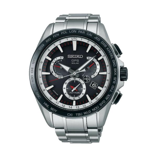 Relógio SEIKO ASTRON GPS Solar Dual Time SSE051J1
