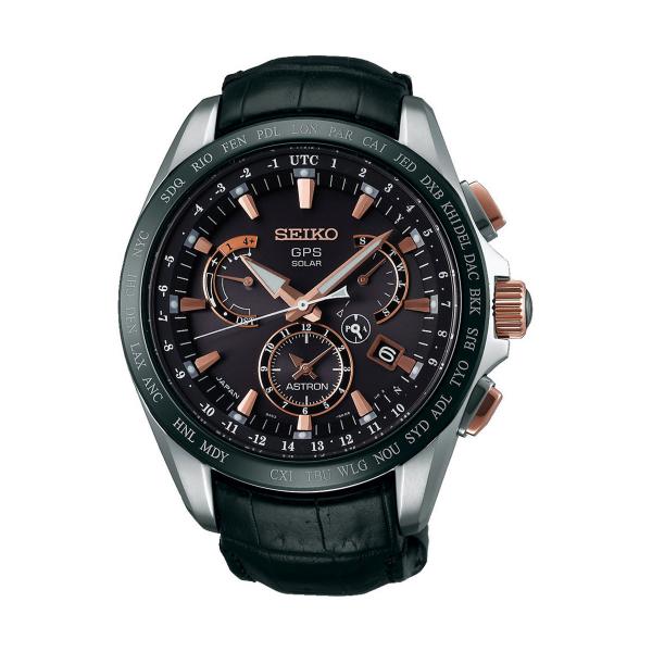 Relógio SEIKO ASTRON GPS Solar Dual Time SSE061J1