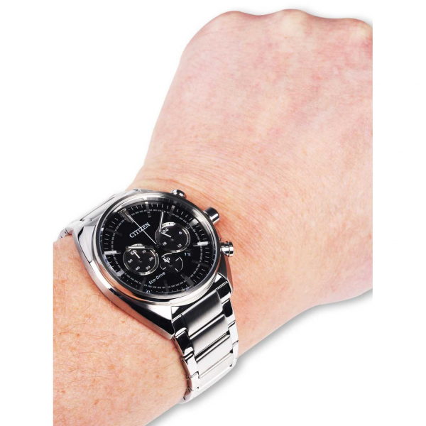 Relógio CITIZEN Elegant Chrono Steel CA4280-53E
