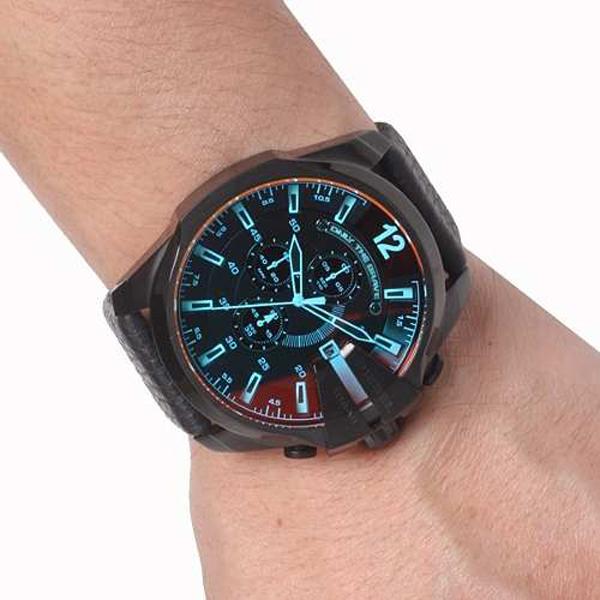 Relógio DIESEL Mega Chief Black DZ4323