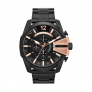 Relógio DIESEL Mega Chief Black Rose Gold