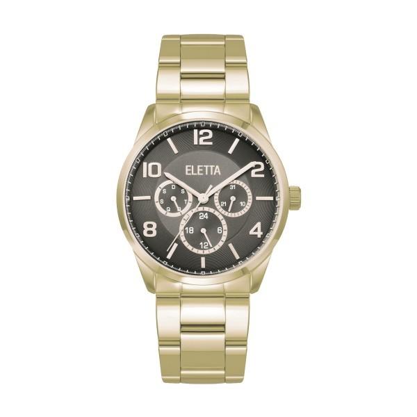 Relógio ELETTA WestCoast Dourado ELA270MPMG