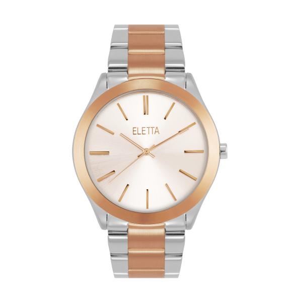 Relógio ELETTA Bright Silver ELA640LBMT