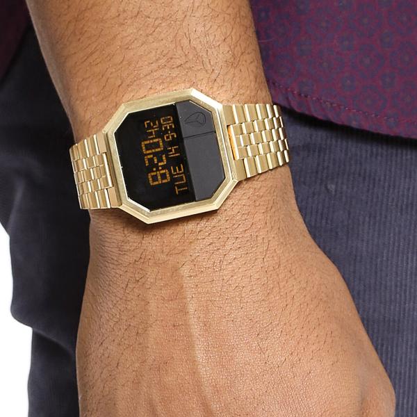 Relógio NIXON Re-Run Dourado A158-502