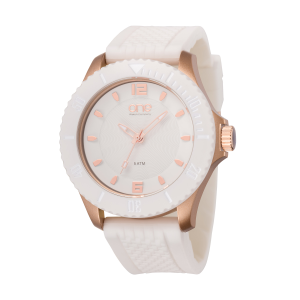 Relógio ONE COLORS New Gum White OA1680BR72T