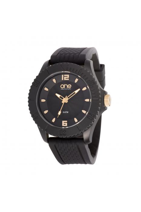 Relógio ONE COLORS New Gum Black