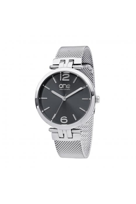 Relógio ONE Zen Cinzento