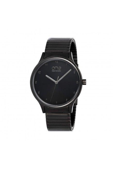 Relógio ONE Stretch Black