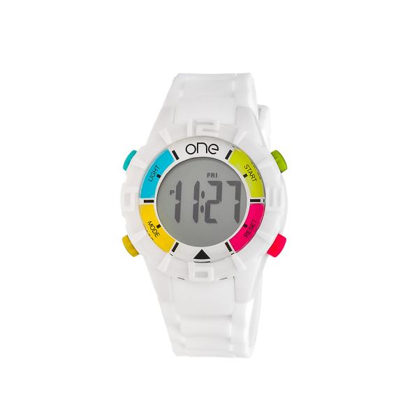 Relógio ONE COLORS Smart Branco OT5649BC71L
