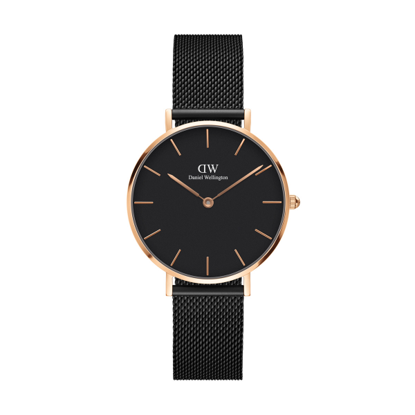 Relógio DANIEL WELLINGTON Classic Petite Ashfield Ouro Rosa DW00100201