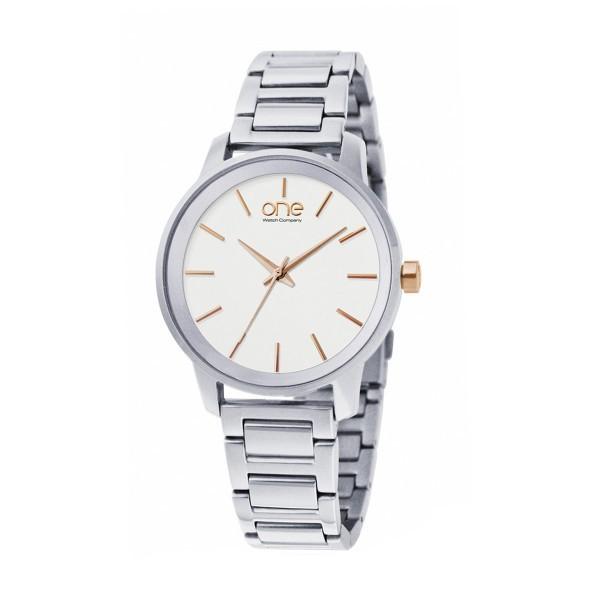 Relógio ONE Flair Prateado OL6570RS72L