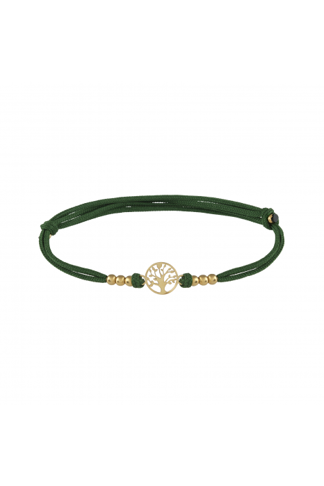 Pulseira UNIKE Five Wishes Dark Green