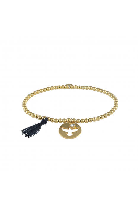 Pulseira UNIKE Five Wishes Navy