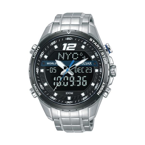 Relógio PULSAR Accelerator Prateado PZ4027X1