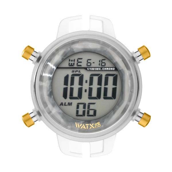 Caixa WATX M Digital Turtle Branco RWA1060
