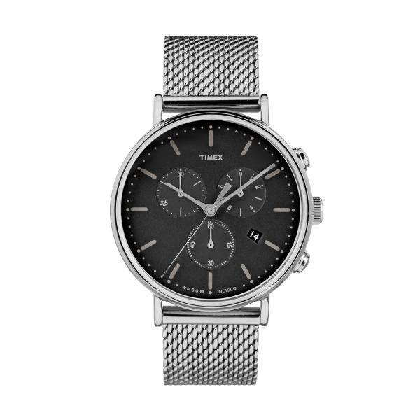 Relógio TIMEX Fairfield Chrono Prateado TW2R61900