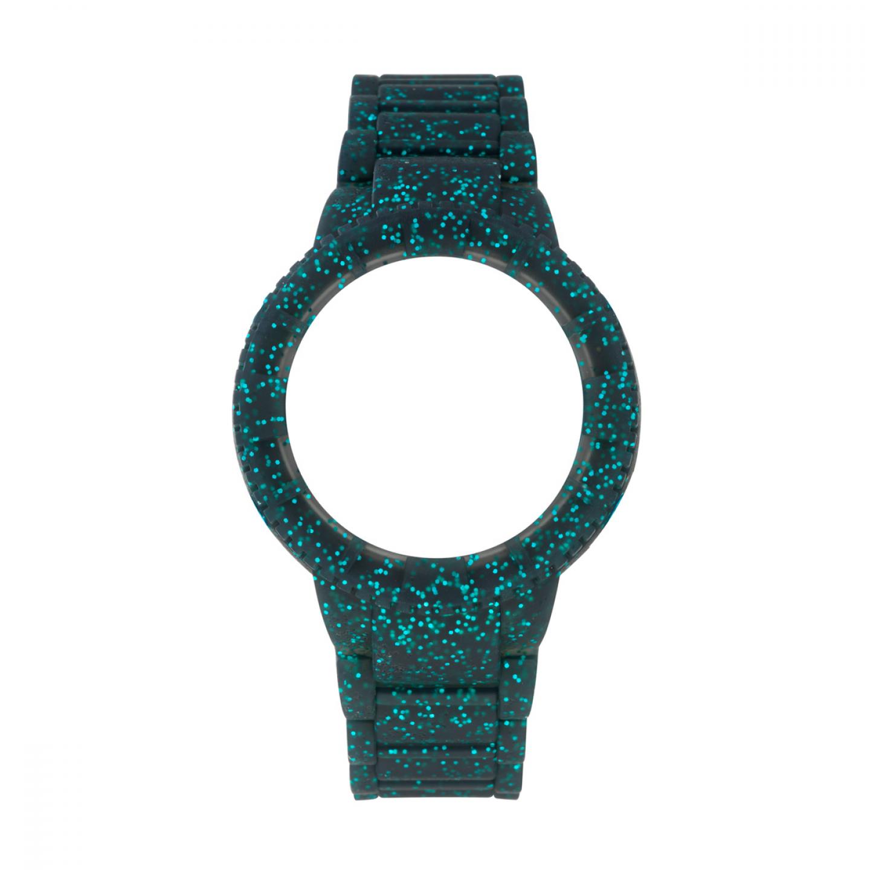 Bracelete WATX M Original Sparkling Glitter Azul