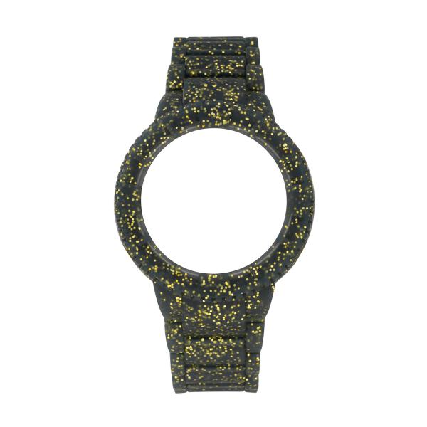 Bracelete WATX M Original Sparkling Glitter Dourado COWA1018