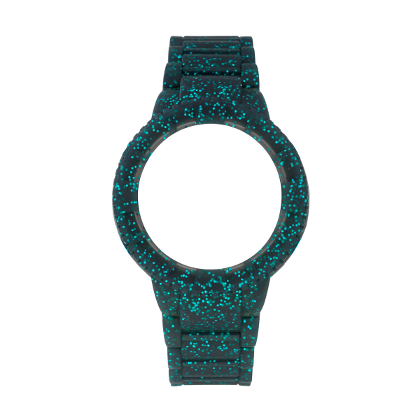 Bracelete WATX M Original Sparkling Glitter Azul COWA1017