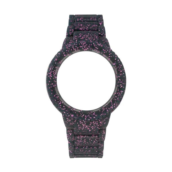 da6427a9914 Bracelete WATX M Original Sparkling Glitter Roxo COWA1016 ...