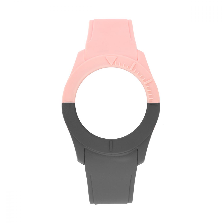 Bracelete WATX S Smart Duo Rosa e Cinza