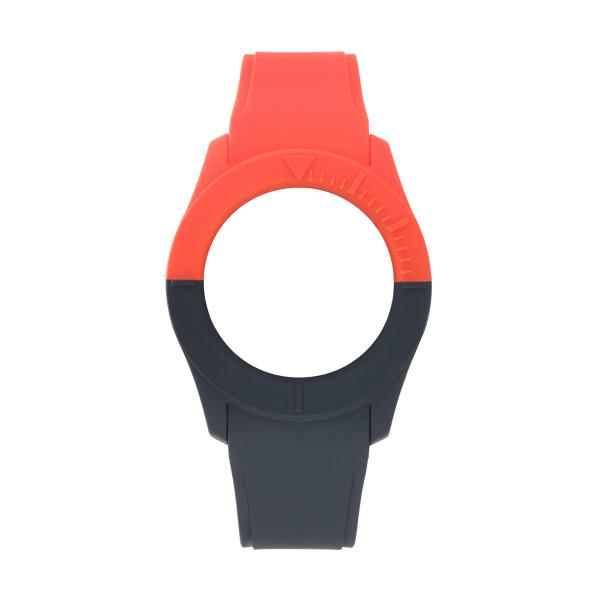 Bracelete WATX S Smart Duo Vermelho e Azul escuro COWA3516