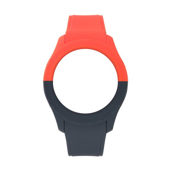 Bracelete WATX L Smart Duo Vermelho e Azul escuro COWA3716
