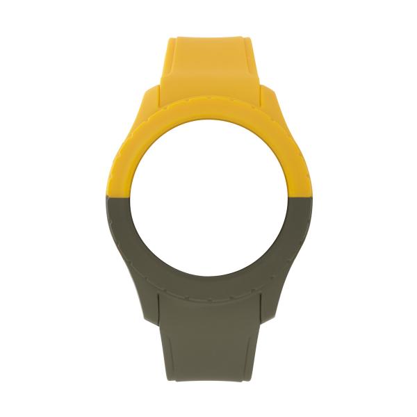 Bracelete WATX L Smart Duo Mostarda e Verde COWA3718