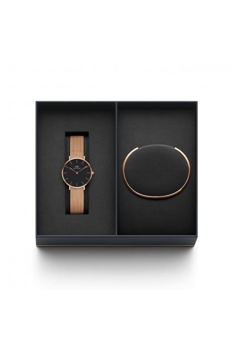 Gift Set Relógio DANIEL WELLINGTON Ouro Rosa
