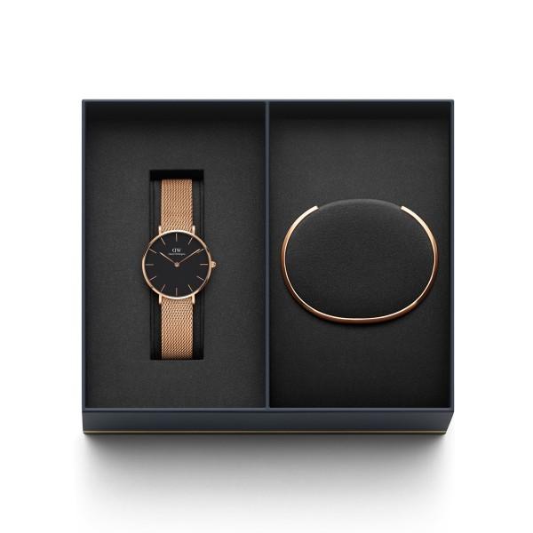 Gift Set Relógio DANIEL WELLINGTON Ouro Rosa DW00500001
