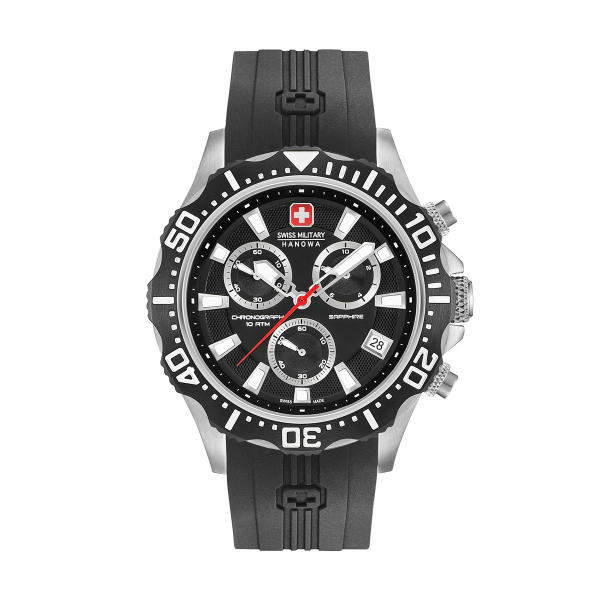 Relógio SWISS MILITARY Patrol Chrono Preto SM06430504007