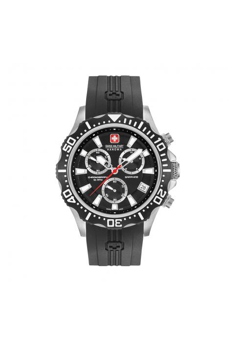 fa809742276 Relógio SWISS MILITARY Multimission Preto - SM064298313007
