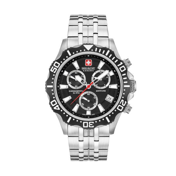 Relógio SWISS MILITARY Patrol Chrono Prateado SM06530504007
