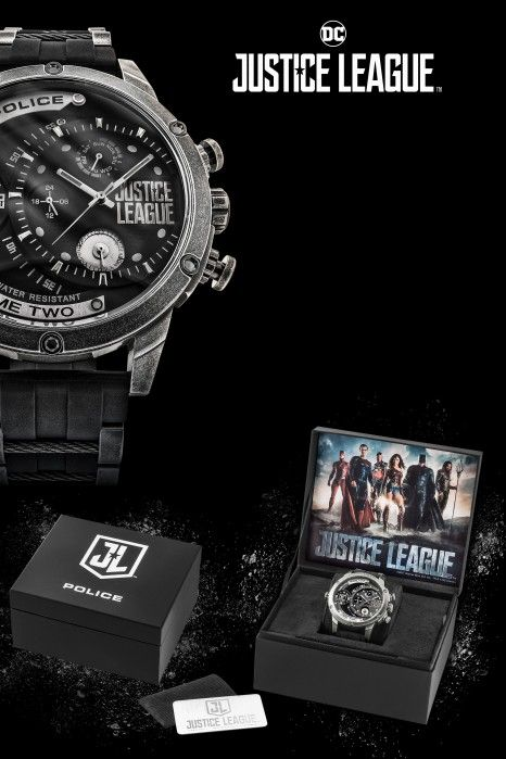 Relógio Police Justice League Ed. Limitada