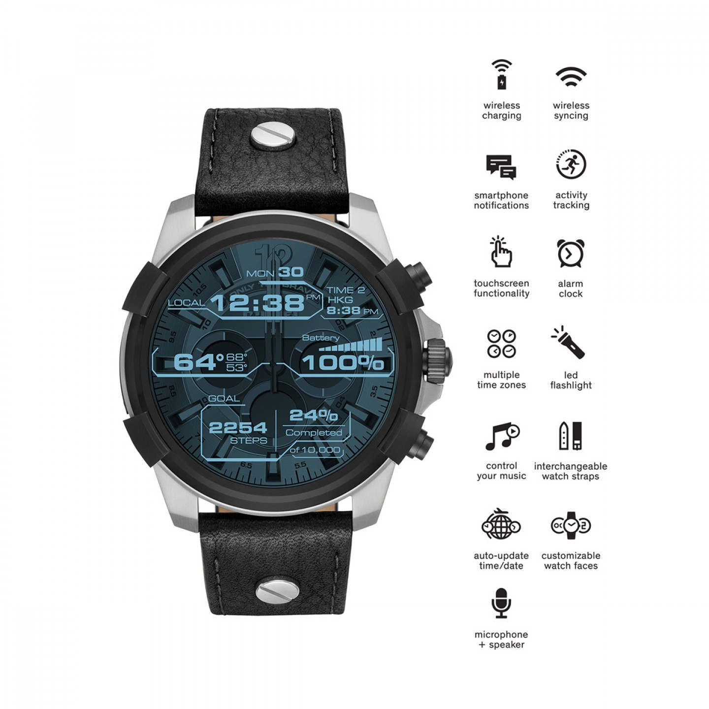 Relógio Inteligente DIESEL On (Smartwatch)