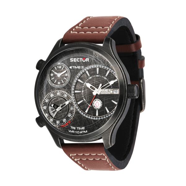 Relógio SECTOR Traveller Castanho R3251504003